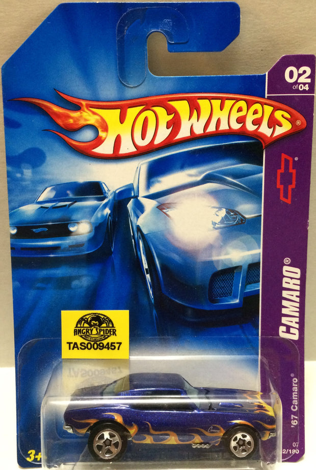 (TAS009457) - Mattel Hot Wheels Racing Die-Cast Car - '67 Camaro 02 of 04, , Trucks & Cars, Hot Wheels, The Angry Spider Vintage Toys & Collectibles Store