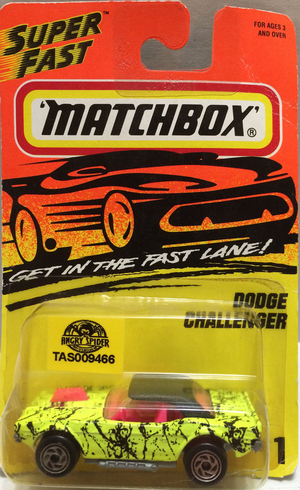 (TAS009466) - Matchbox - Dodge Challenger #1, , Trucks & Cars, Matchbox, The Angry Spider Vintage Toys & Collectibles Store