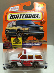 (TAS009480) - Matchbox - Chevy Tahoe - #78 of 100, , Trucks & Cars, Matchbox, The Angry Spider Vintage Toys & Collectibles Store