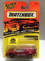 (TAS009488) - Matchbox Racing Stock Car - Lauborghini Countach, , Trucks & Cars, Matchbox, The Angry Spider Vintage Toys & Collectibles Store