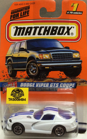 (TAS009494) - Matchbox - Dodge Viper GTS Coupe #1 of 75, , Trucks & Cars, Matchbox, The Angry Spider Vintage Toys & Collectibles Store