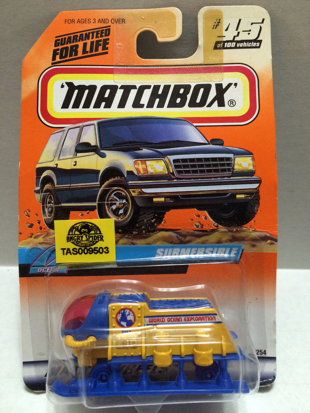 (TAS009503) - Matchbox Racing Stock Car - Submersible, , Trucks & Cars, Matchbox, The Angry Spider Vintage Toys & Collectibles Store