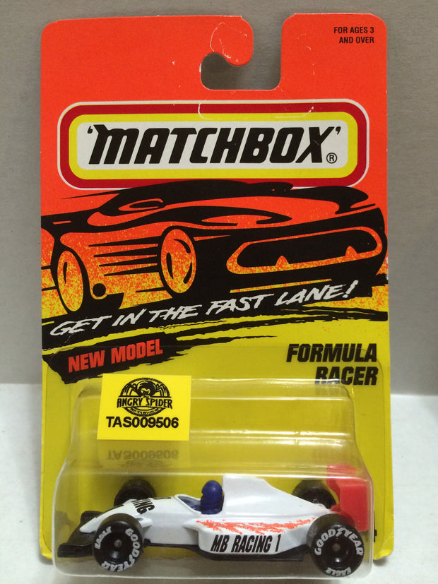 (TAS009506) - Matchbox Die-Cast - Formula Racer, , Trucks & Cars, Matchbox, The Angry Spider Vintage Toys & Collectibles Store