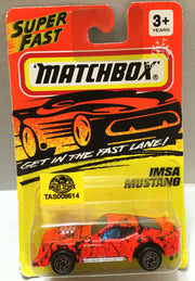 (TAS009514) - Matchbox Racing Stock Car - IMSA Mustang, , Trucks & Cars, Matchbox, The Angry Spider Vintage Toys & Collectibles Store