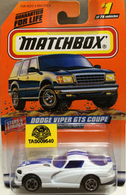 (TAS009540) - Matchbox - Stars & Stripes - Dodge Viper GTS Coupe #1 of 75, , Trucks & Cars, Matchbox, The Angry Spider Vintage Toys & Collectibles Store