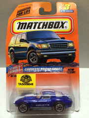 (TAS009546) - Matchbox Racing Stock Car - Corvette, , Trucks & Cars, Matchbox, The Angry Spider Vintage Toys & Collectibles Store
