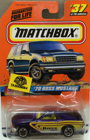 (TAS009564) - Matchbox - '70 Boss Mustang #37 of 75, , Trucks & Cars, Matchbox, The Angry Spider Vintage Toys & Collectibles Store