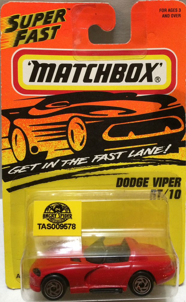 (TAS009578) - Matchbox - Dodge Viper RT/10, , Trucks & Cars, Matchbox, The Angry Spider Vintage Toys & Collectibles Store