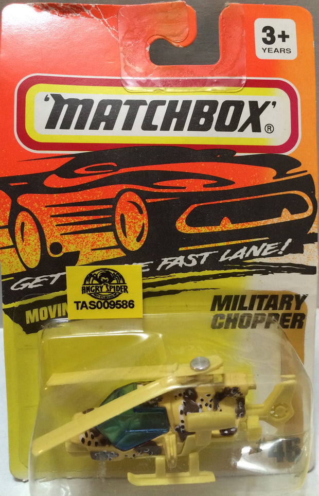 (TAS009586) - Matchbox - Military Chopper #46, , Trucks & Cars, Matchbox, The Angry Spider Vintage Toys & Collectibles Store