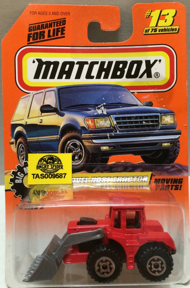 (TAS009587) - Matchbox - Shovel Nose Tracker #13 of 75, , Trucks & Cars, Matchbox, The Angry Spider Vintage Toys & Collectibles Store
