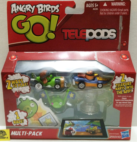 (TAS009614) - 2013 Hasbro Angry Birds Go! Telepods Multi-Pack, , Game, Angry Birds, The Angry Spider Vintage Toys & Collectibles Store