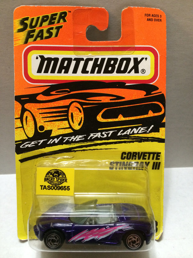 (TAS009193) - Matchbox - Corvette Stingray III, , Trucks & Cars, Matchbox, The Angry Spider Vintage Toys & Collectibles Store