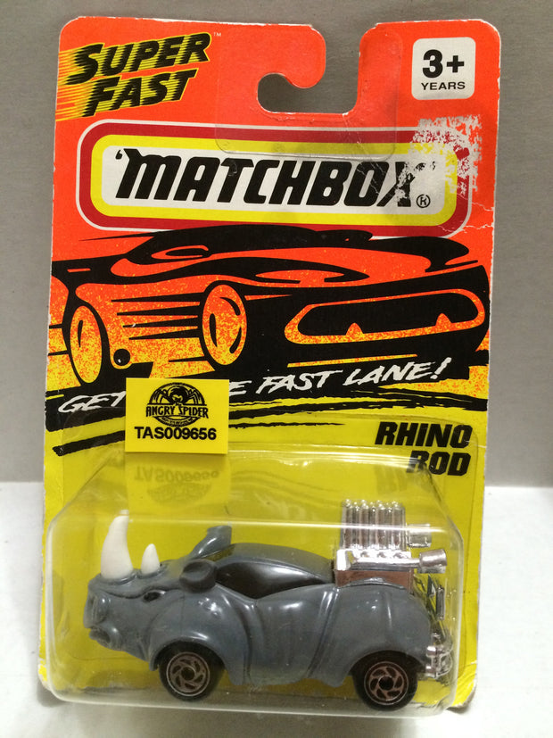 (TAS009656) - Matchbox Racing Stock Car - Rhino Rod, , Trucks & Cars, Matchbox, The Angry Spider Vintage Toys & Collectibles Store