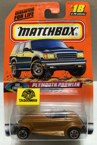 (TAS009659) - Matchbox Racing Stock Car - Plymouth Prowler, , Trucks & Cars, Matchbox, The Angry Spider Vintage Toys & Collectibles Store
