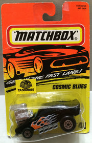 (TAS009665) - Matchbox Racing Stock Car - Cosmic Blues, , Trucks & Cars, Matchbox, The Angry Spider Vintage Toys & Collectibles Store