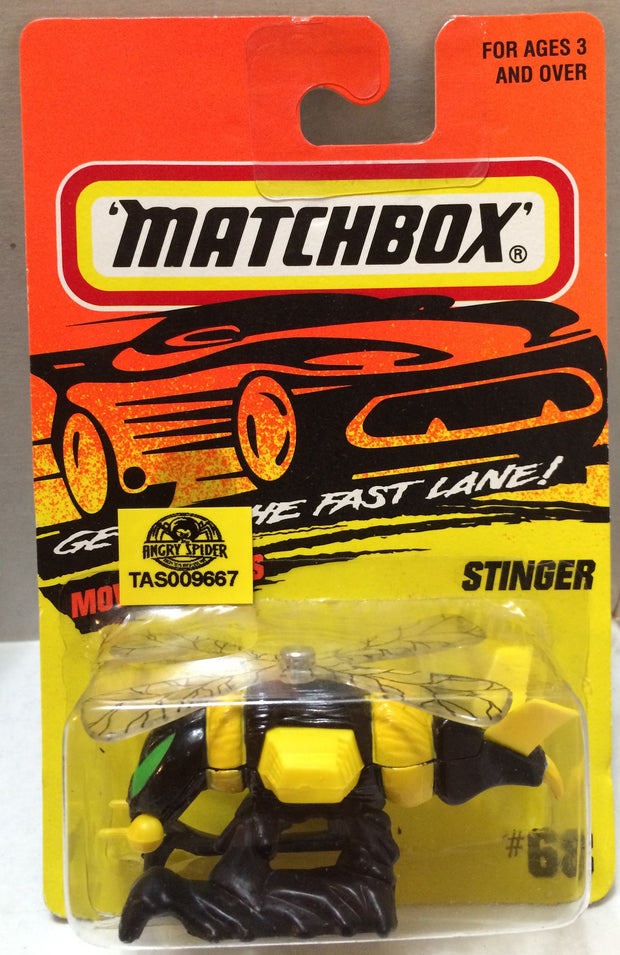 (TAS009667) - Matchbox Racing Stock Car - Stinger, , Trucks & Cars, Matchbox, The Angry Spider Vintage Toys & Collectibles Store
