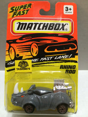 (TAS009675) - Matchbox Racing Stock Car - Rhino Rod, , Trucks & Cars, Matchbox, The Angry Spider Vintage Toys & Collectibles Store