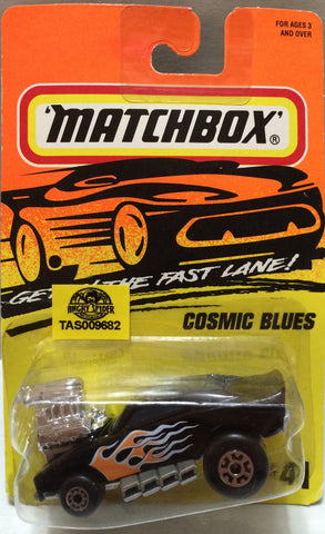 (TAS009682) - Matchbox Racing Stock Car - Cosmic Blues, , Trucks & Cars, Matchbox, The Angry Spider Vintage Toys & Collectibles Store