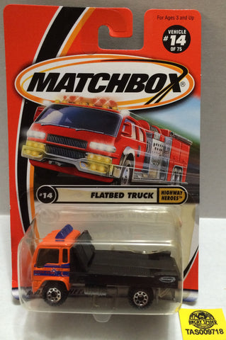 (TAS009718) - Matchbox Racing Stock Car - Flatbed Truck, , Trucks & Cars, Matchbox, The Angry Spider Vintage Toys & Collectibles Store