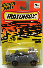 (TAS009719) - Matchbox Die-Cast Racing Stock Car - Rhino Rod, , Trucks & Cars, Matchbox, The Angry Spider Vintage Toys & Collectibles Store