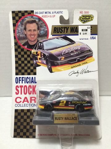 (TAS010016) - 1992 Road Champs Die-Cast Car - #2 Rusty Wallace, , Trucks & Cars, Road Champs, The Angry Spider Vintage Toys & Collectibles Store  - 1