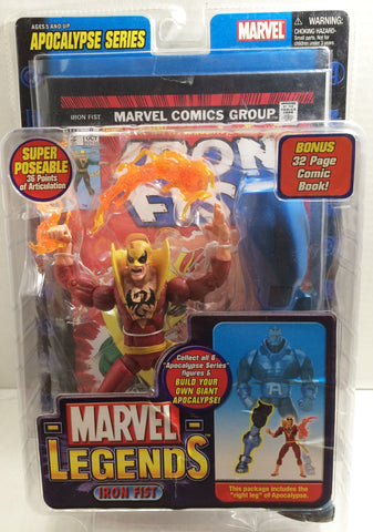 (TAS010191) - 2005 Toy Biz Marvel Legends Iron Fist Action Figure, , Action Figure, Marvel, The Angry Spider Vintage Toys & Collectibles Store  - 1