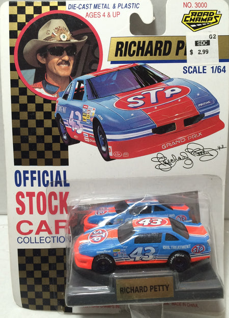 (TAS010198) - Road Champs Die-Cast Car - #43 Richard Petty, , Trucks & Cars, Nascar, The Angry Spider Vintage Toys & Collectibles Store  - 1
