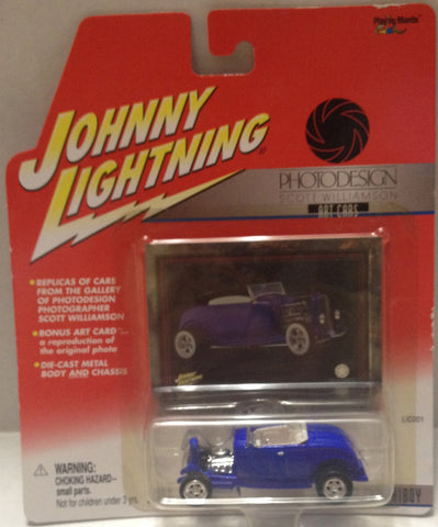 (TAS010296) - 2001 Johnny Lightning PhotoDesign 1932 Ford HiBoy Die-Cast, , Trucks & Cars, Johnny Lightning, The Angry Spider Vintage Toys & Collectibles Store  - 1