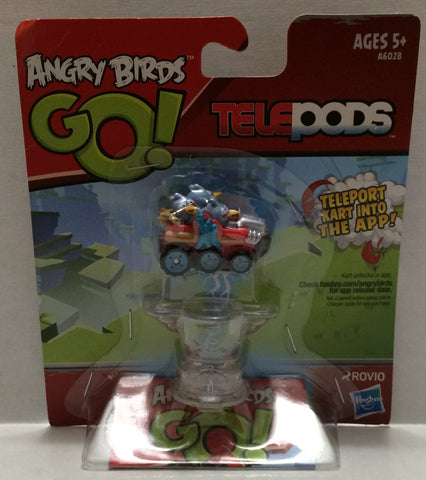 (TAS010354) – 2013 Hasbro Angry Birds Go! Telepods Kart & Base, , Action Figure, Hasbro, The Angry Spider Vintage Toys & Collectibles Store  - 1