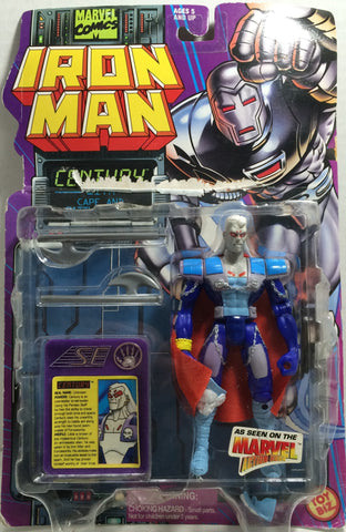 (TAS010410) - 1995 Toy Biz Marvel Iron Man Century Action Figure, , Action Figure, Iron Man, The Angry Spider Vintage Toys & Collectibles Store  - 1