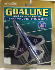 (TAS010435) - 1999 Ertl NFL Goal Line Classics Team Fighting Jets - Cowboys, , Planes, NFL, The Angry Spider Vintage Toys & Collectibles Store  - 1