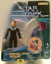 (TAS010504) - Playmates Star Trek Figure - Lt. Commander Jadzia Dax, , Action Figure, StarTrek, The Angry Spider Vintage Toys & Collectibles Store  - 1