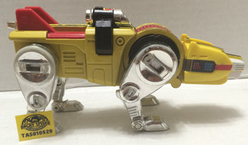 (TAS010529) - Bandai Vintage Voltron Yellow Cat Die Cast Figure, , Action Figure, Voltron, The Angry Spider Vintage Toys & Collectibles Store  - 1