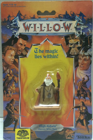 (TAS010530) - 1988 Tonka Willow The Magic Lies Within! High Aldwin Figure, , Action Figure, Tonka, The Angry Spider Vintage Toys & Collectibles Store  - 1