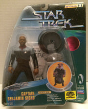 (TAS010557) - Playmates Star Trek Figure - Captain Benjamin Sisko, , Action Figure, Star Trek, The Angry Spider Vintage Toys & Collectibles Store  - 1