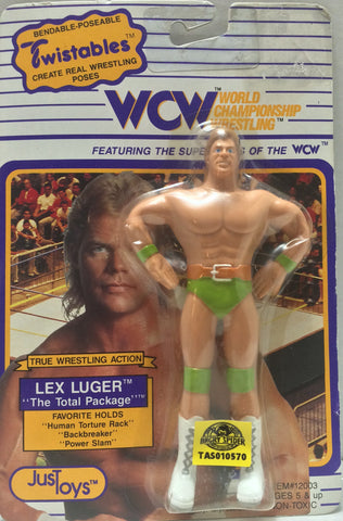 (TAS010570) - 1990 Just Toys Twistables WCW - Lex Luger, , Action Figure, Just Toys, The Angry Spider Vintage Toys & Collectibles Store  - 1