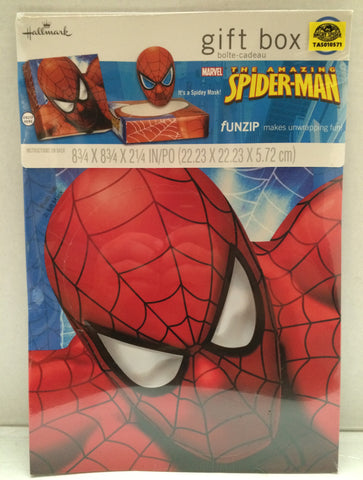 (TAS010571) - The Amazing Spiderman Hallmark Gift Box, , Party, Spiderman, The Angry Spider Vintage Toys & Collectibles Store  - 1