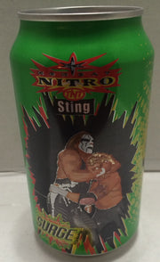 (TAS033306) - 1999 Surge WCW Monday Nitro TNT Wrestling Soda Can / Bank Sting, , Coin Bank, Wrestling, The Angry Spider Vintage Toys & Collectibles Store  - 1