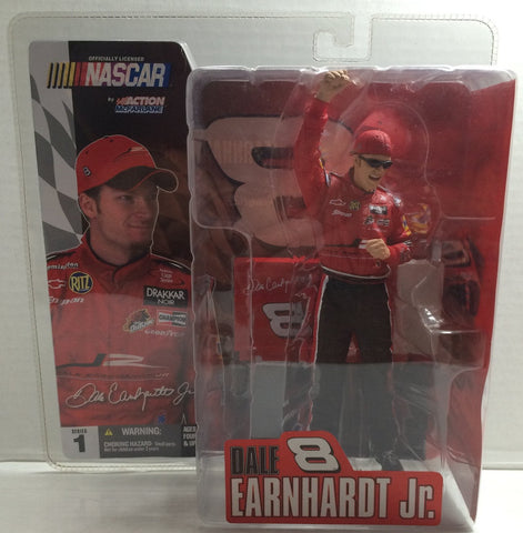 (TAS010646) - Action McFarlane NASCAR - Dale Earnhardt Jr., , Action Figure, McFarlane, The Angry Spider Vintage Toys & Collectibles Store  - 1