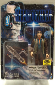 (TAS010655) - 1996 Playmates Star Trek First Contact - Zefram Cochrane Figure, , Action Figure, Star Trek, The Angry Spider Vintage Toys & Collectibles Store  - 1