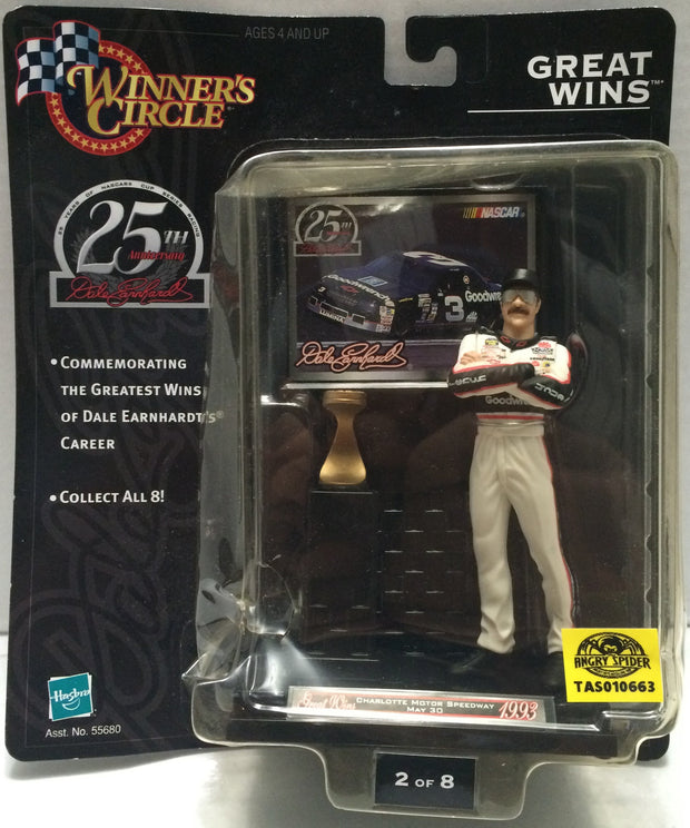 (TAS010663) - 1999 Hasbro Winner's Circle 25th Anniversary Dale Earnhardt Figure, , Action Figure, NASCAR, The Angry Spider Vintage Toys & Collectibles Store  - 1
