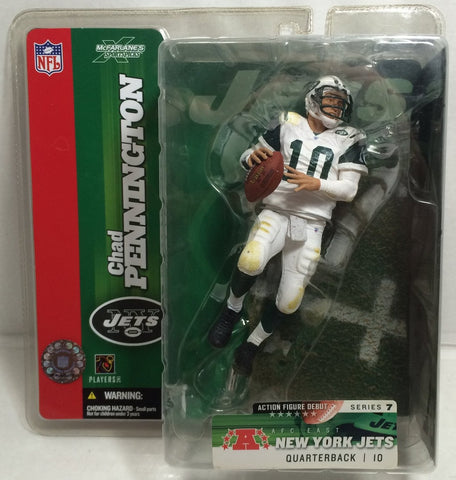 (TAS010675) - McFarlane Toys NFL - Chad Pennington - Jets, , Action Figure, McFarlane, The Angry Spider Vintage Toys & Collectibles Store  - 1