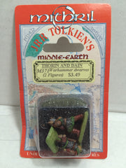(TAS010694) - Mitchell JRR Tolkiens Middle-Earth - Thorin and Dain Warhammer Fig, , Action Figure, n/a, The Angry Spider Vintage Toys & Collectibles Store  - 1