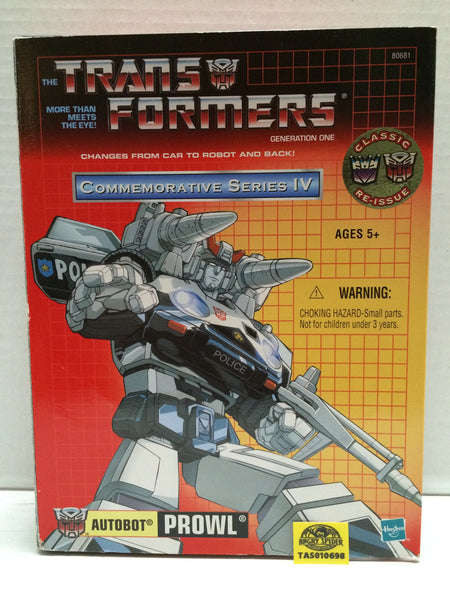 (TAS010698) - 2002 Hasbro Transformers Commemorative Series IV - Prowl, , Action Figure, Transformers, The Angry Spider Vintage Toys & Collectibles Store  - 1