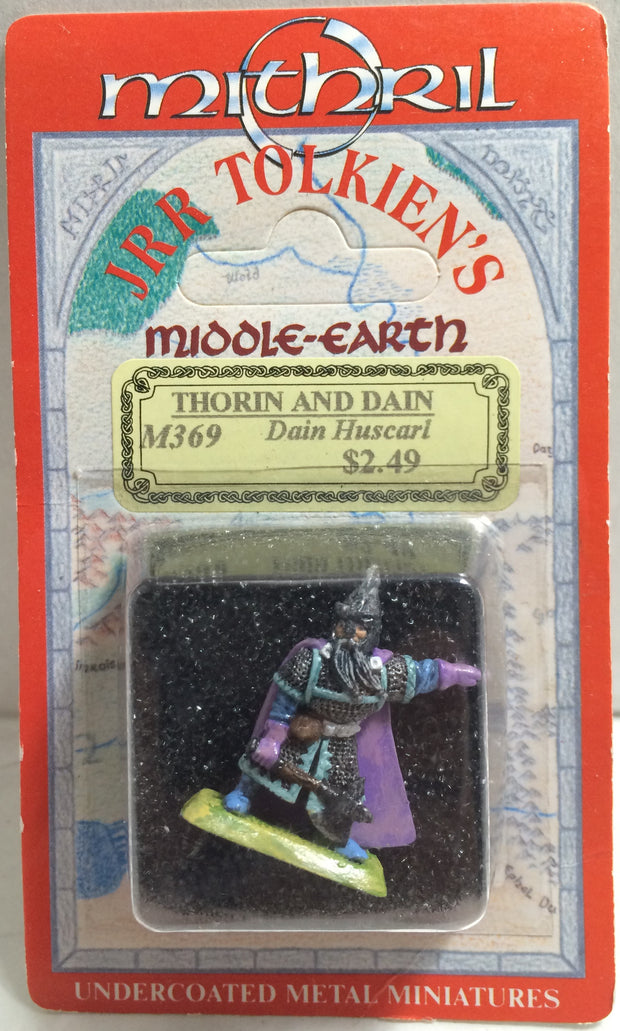 (TAS010705) - Mithril J.R.R Tolkien's Middle-Earth Thorin & Dain Metal Minis, , Action Figure, The Hobbit, The Angry Spider Vintage Toys & Collectibles Store  - 1