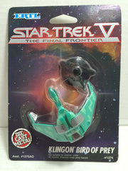 (TAS010717) - 1989 Ertl Star Trek V The Final Frontier - Klingon Bird of Prey, , Action Figure, Star Trek, The Angry Spider Vintage Toys & Collectibles Store  - 1