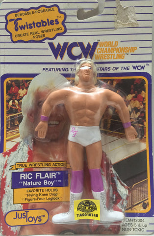 (TAS010748) - 1990 Just Toys WCW Twistables - Ric Flair, , Action Figure, Just Toys, The Angry Spider Vintage Toys & Collectibles Store  - 1