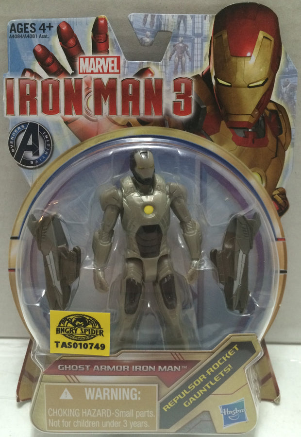 (TAS010749) - 2012 Hasbro Marvel Iron Man 3 Ghost Armor Iron Man, , Action Figure, Iron Man, The Angry Spider Vintage Toys & Collectibles Store  - 1