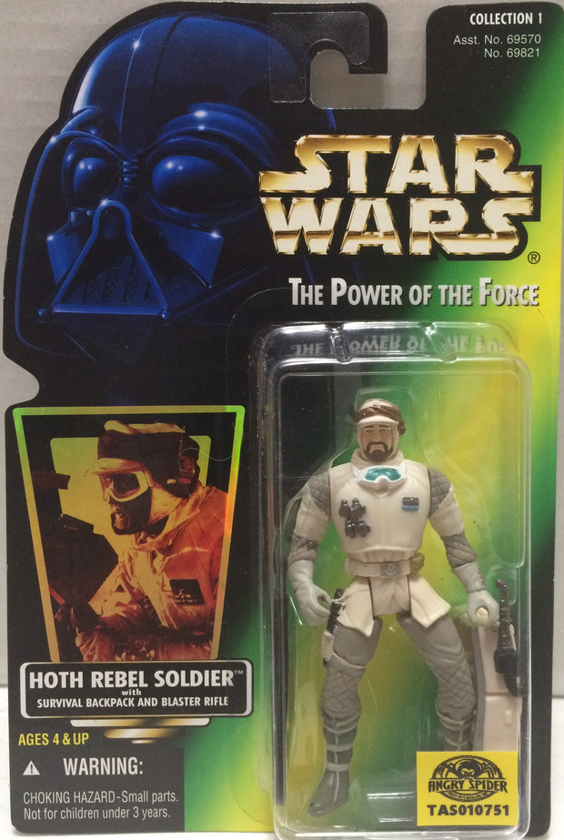 (TAS010751) - 1996 Hasbro Star Wars The Power Of The Force - Hoth Rebel Soldier, , Action Figure, Star Wars, The Angry Spider Vintage Toys & Collectibles Store  - 1