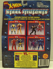 (TAS010762) - Toy Biz Marvel Die-Cast X-Men Steel Mutants Figures - Apocalypse, , Action Figure, X-Men, The Angry Spider Vintage Toys & Collectibles Store  - 2
